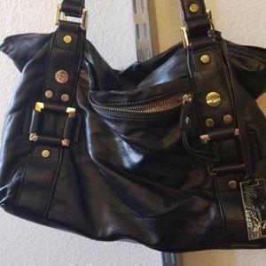 Marc Fisher Black Shoulder Bag